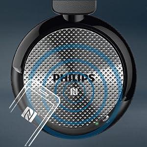 SHB8750NC/27 Wireless Noise Canceling Headphones - Simple NFC pairing