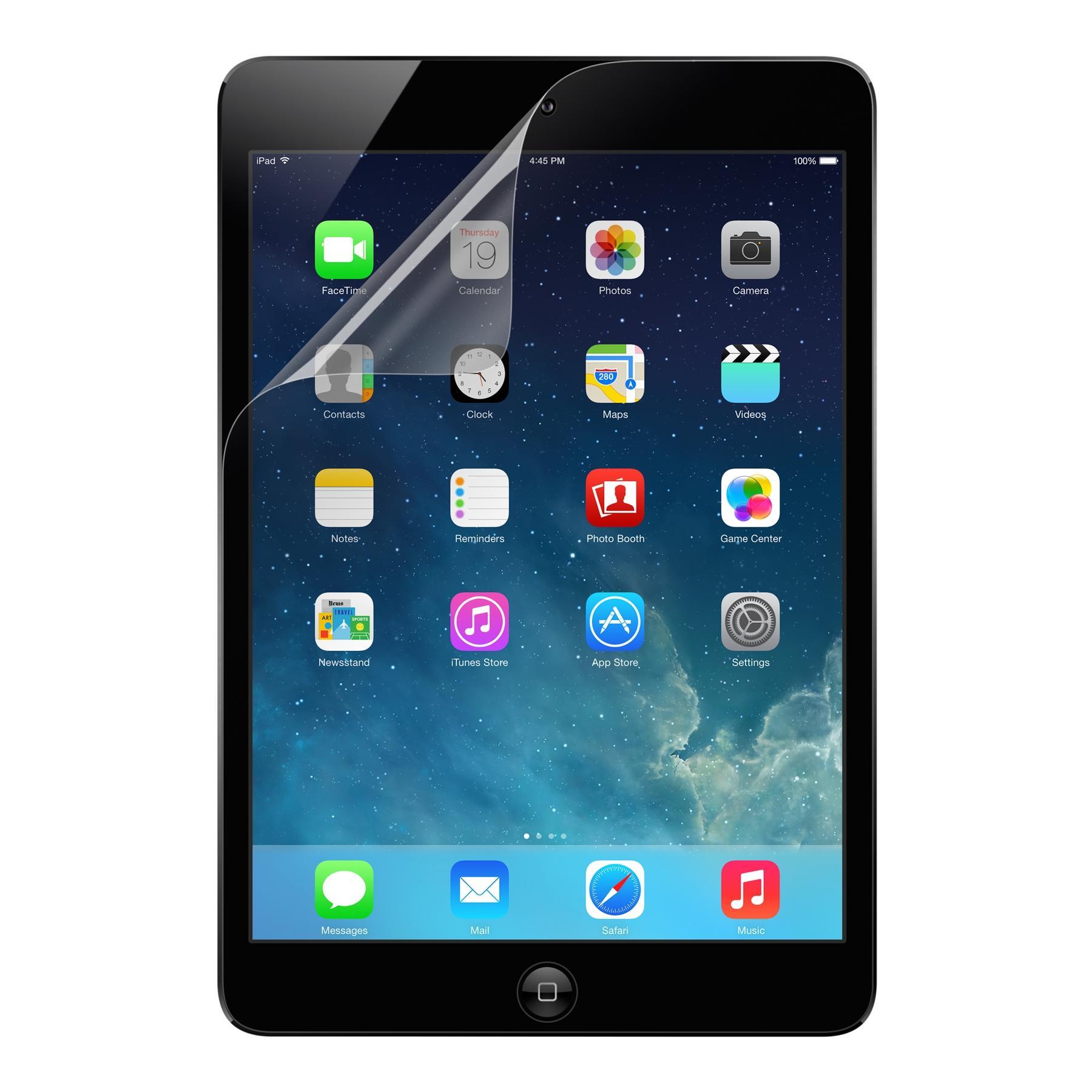 2 Pack Belkin TrueClear Transparent Screen Protection Kit iPad Air//iPad Air 2