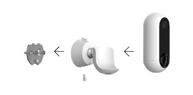 Amazon Com Canary Secure Mount For Canary Flex White