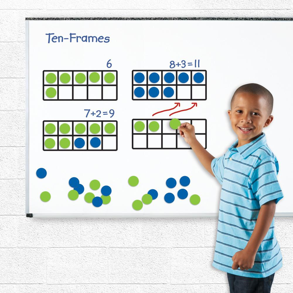 Amazon Com Learning Resources Giant Magnetic Ten Frame