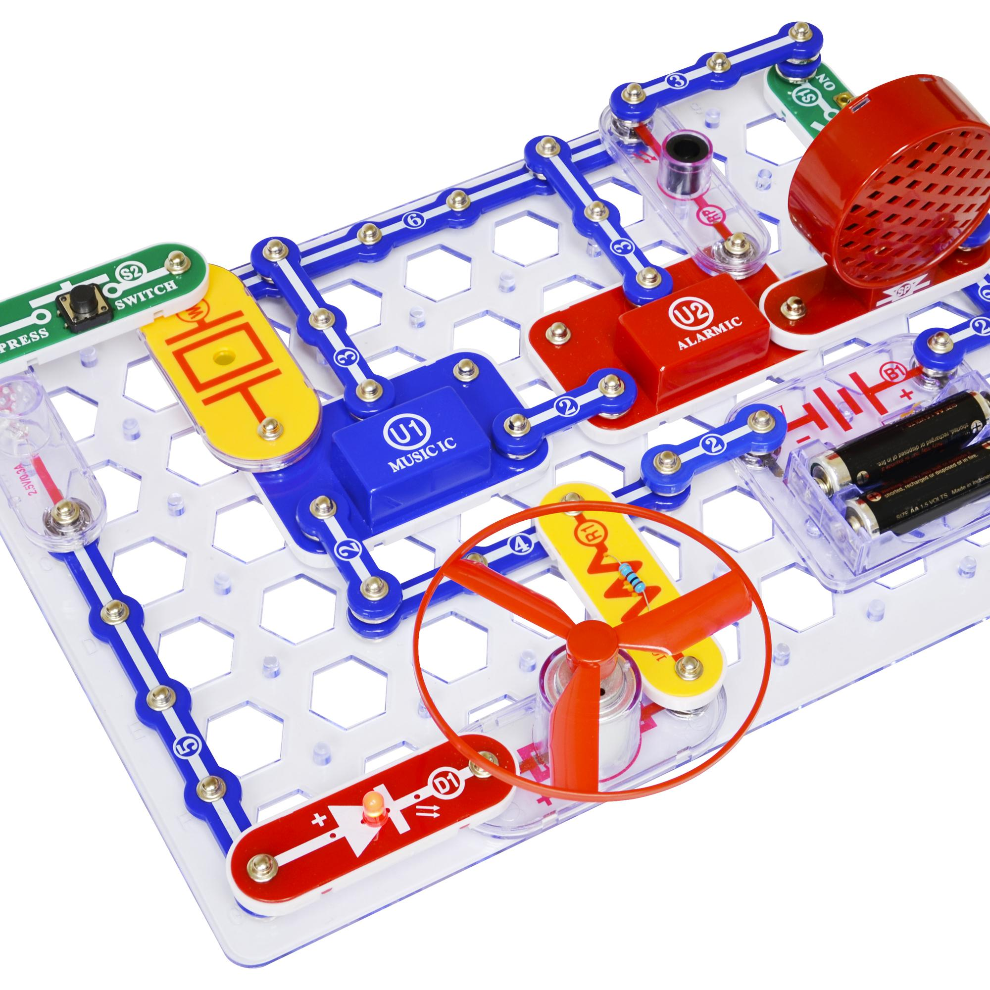 amazon com snap circuits jr sc 100 electronics discovery kit
