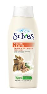 St. Ives Nourish and Soothe Oatmeal and Shea Butter Body Wash