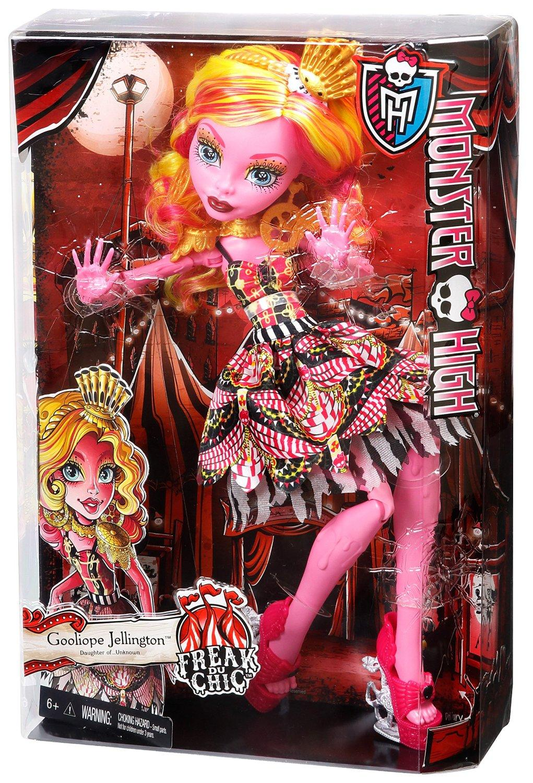 Amazon.com: Monster High Freak du Chic Gooliope Jellington ...