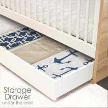 Ample Storage Crib