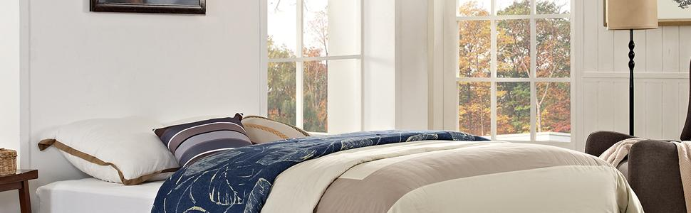 Amazon Com Modway Helen Upholstered King Platform Bed