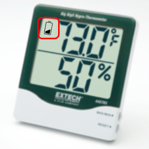 Low Battery Indication, 445713, hygro thermometer, thermometer, hygrometer