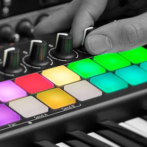 Make Beats in Glorious RGB Color