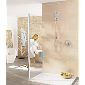 grohe shower set with hand shower