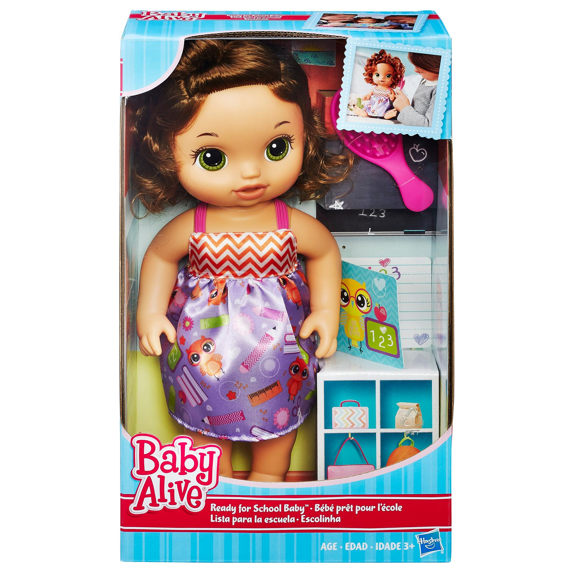 Amazon Com Baby Alive Ready For School Baby Brunette