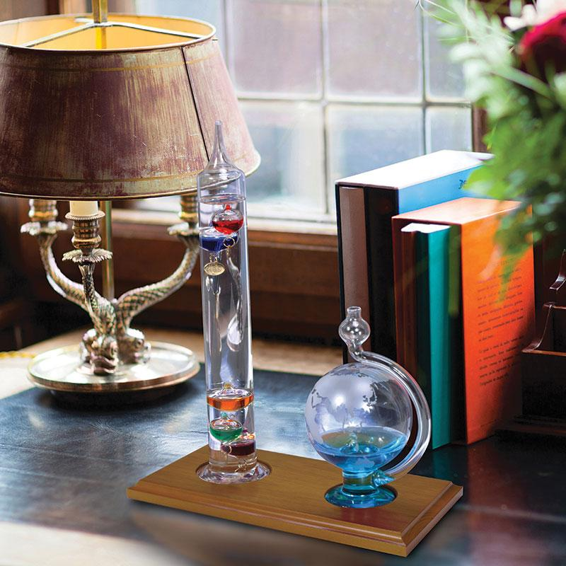 Amazon.com: AcuRite 00795A2 Galileo Thermometer with Glass ...