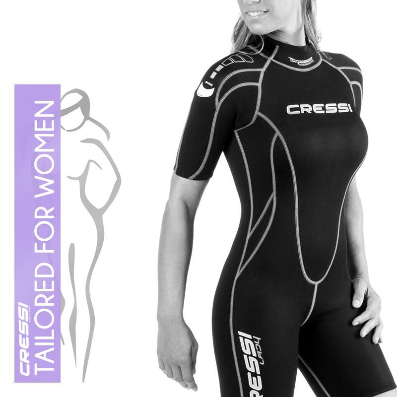 Amazon.com: Cressi Maya – Womens traje de neopreno 2,5 mm ...