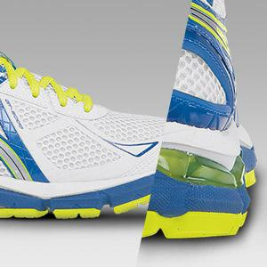 Rearfoot and Forefoot GEL Cushioning