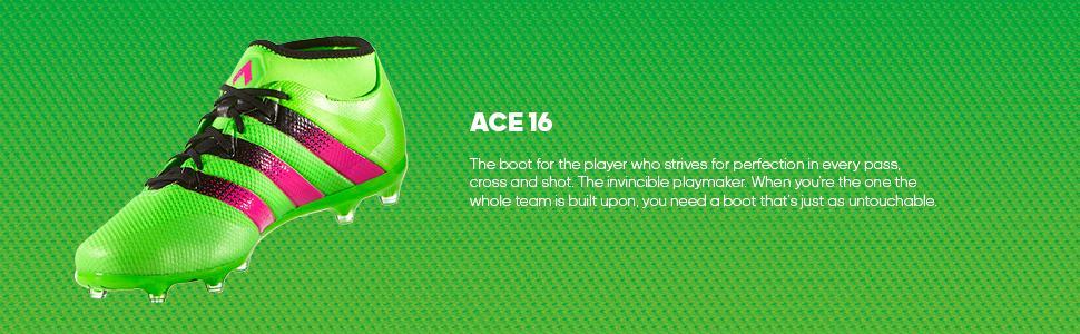 adidas Performance Mens Ace 16.2 Primemesh FG/AG Soccer Shoe