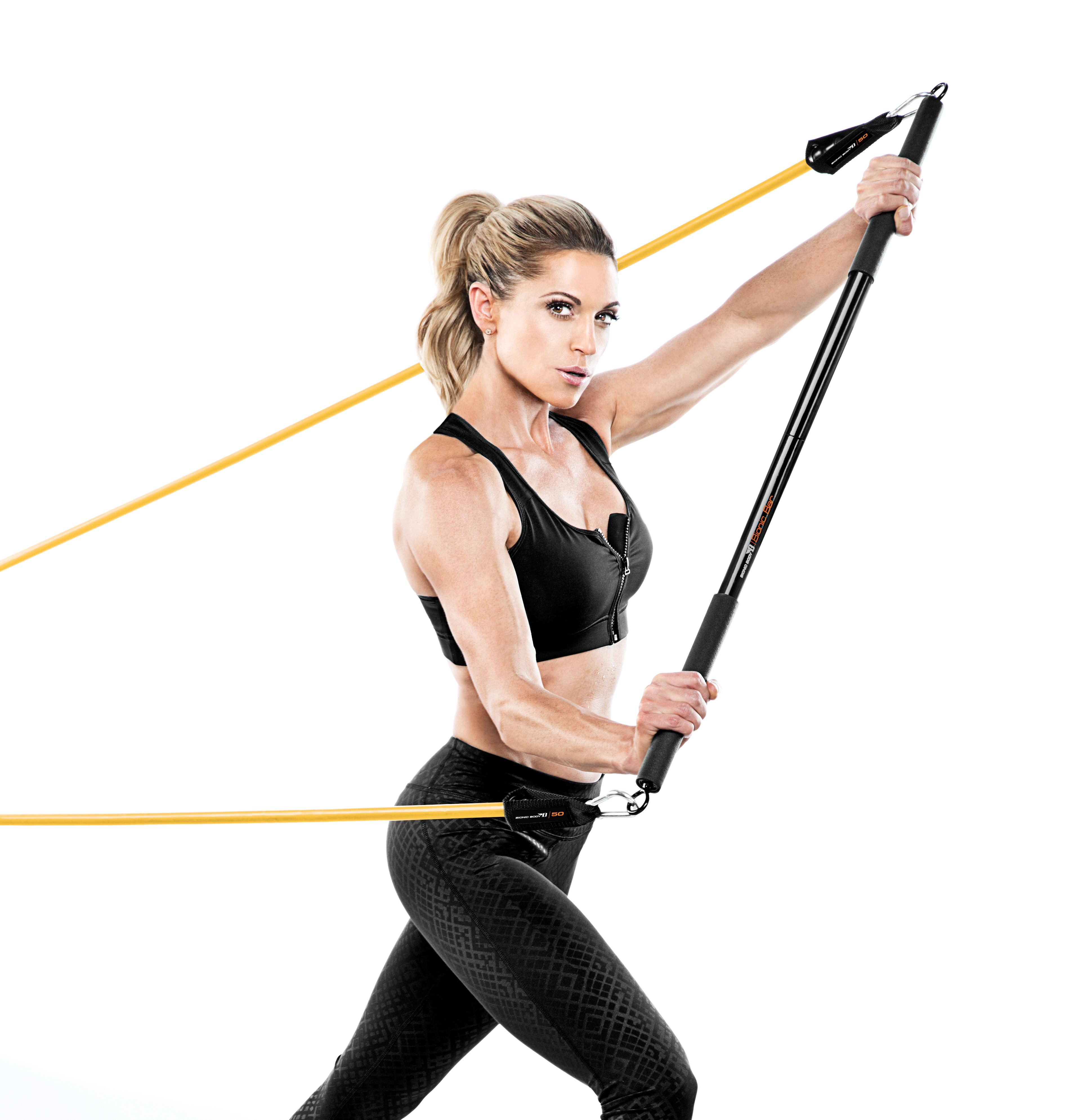 Amazon.com : Bionic Body Workout Bar For Power Lifting