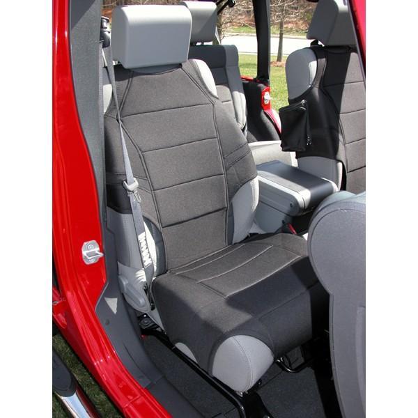 Amazon Com Rugged Ridge 13235 01 Black Fabric Seat