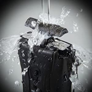 Panasonic ES3831K 100% washable
