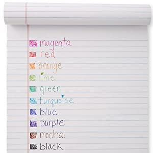With a rainbow of 10 vivid colors, choose something bright for making notes