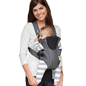 Amazon Com Infantino Breathe Vented Carrier Grey Child Carrier