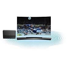 Amazon Com Samsung Hw J8500 Curved 9 1 Channel 350 Watt