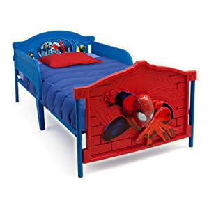 spider man plastic 3d twin bed