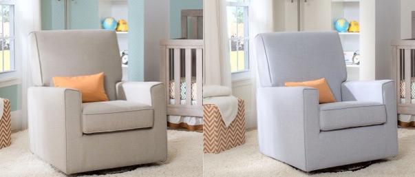 Eva Upholstered Glider  sc 1 st  Amazon.com & Amazon.com: Delta Furniture Eva Upholstered Glider Swivel Rocker ... islam-shia.org