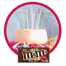Have a fiesta with an assorted handful of chocolate candy M&M'S Singles & Sharing Size Bags.