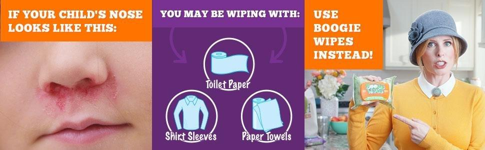 Boogie wipes nannynosebest nanny child cold flu allergy relief remedy remedies boogers mucus saline