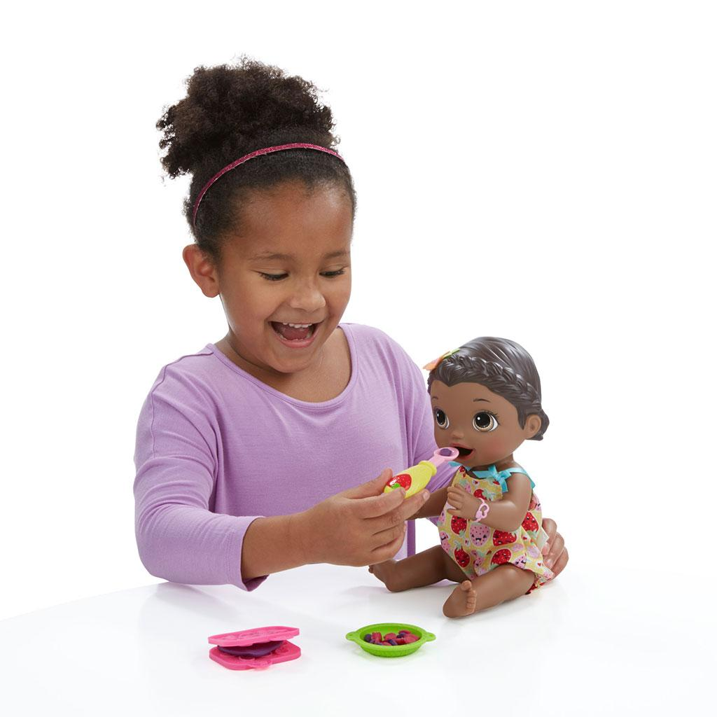 Amazon Com Baby Alive Super Snacks Snackin Lily African