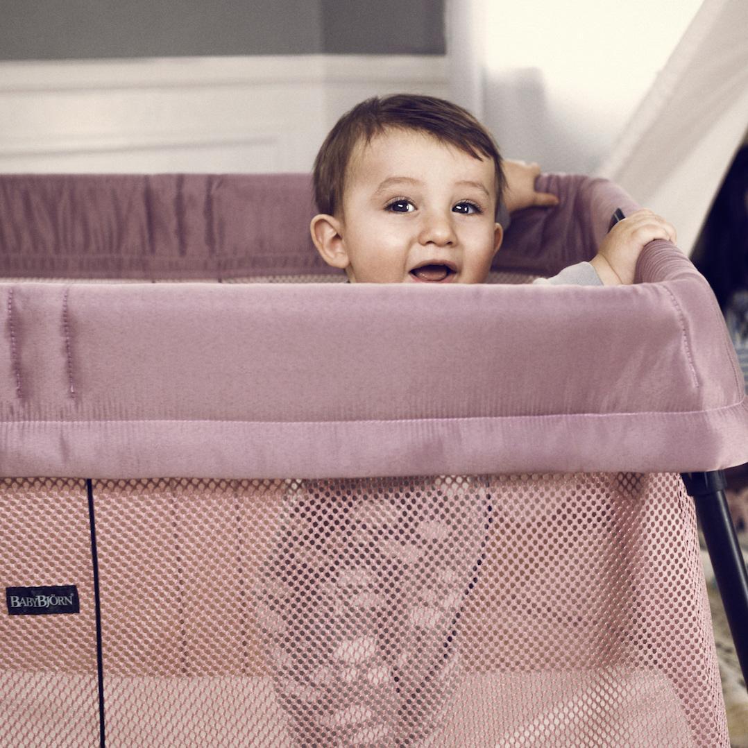 Amazon Com Babybjorn Travel Crib Light Silver Baby
