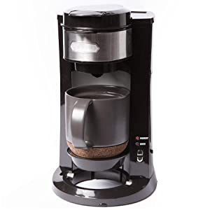 Amazon.com: BELLA Dual Brew Single Serve Personal Coffee Maker, K Cup, K cup 2.0 and ground ...