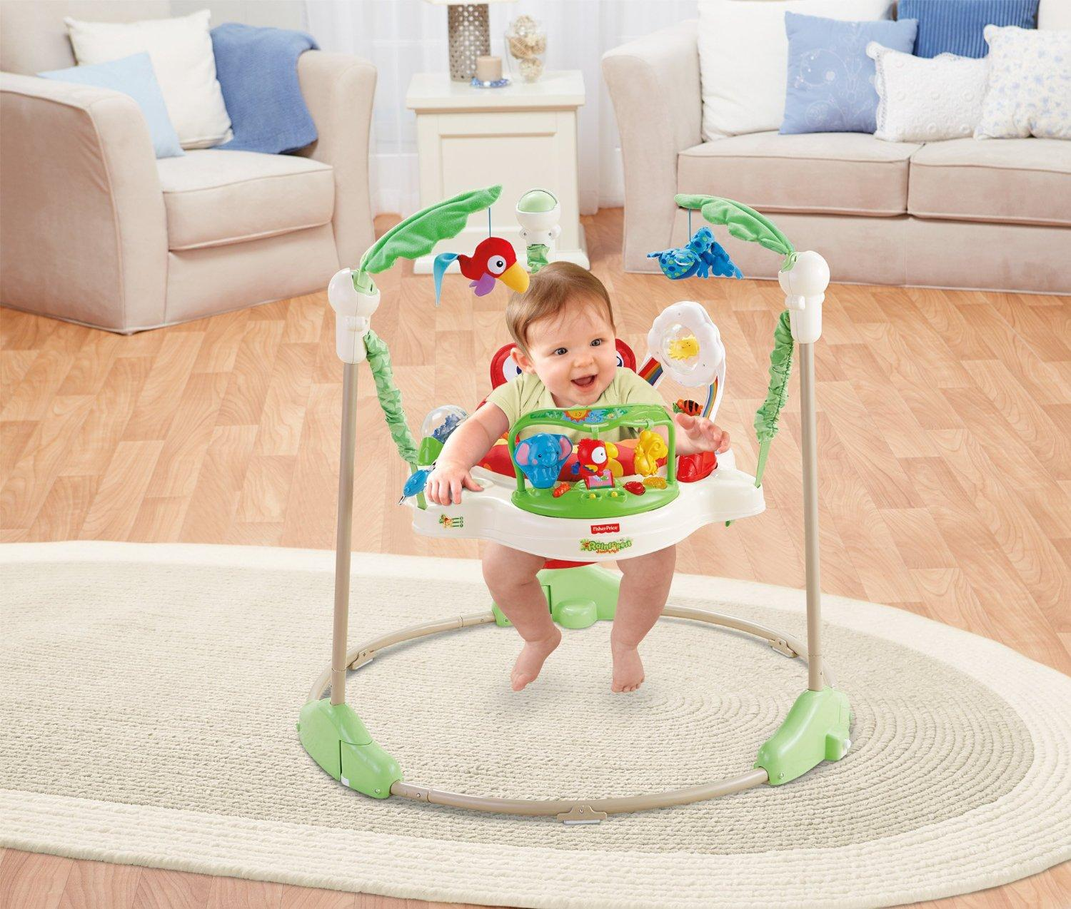 Amazon Com Fisher Price Rainforest Jumperoo Infant