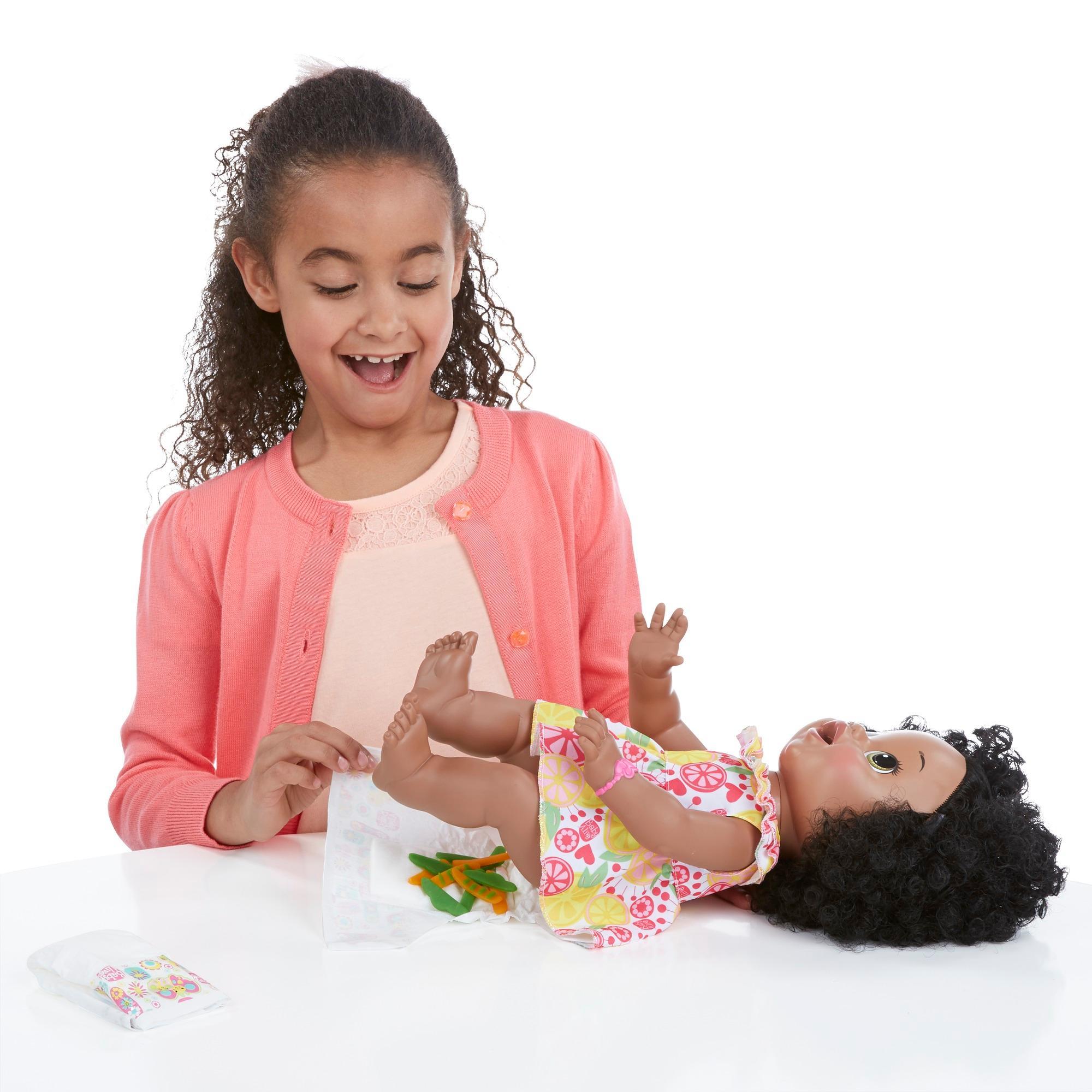 Amazon Com Baby Alive Super Snacks Snackin Sara African
