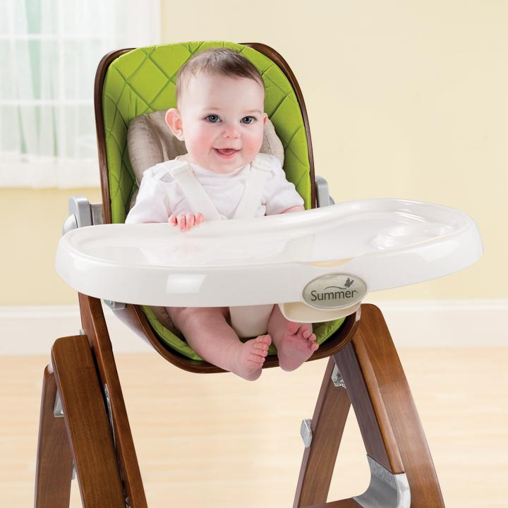 View larger  sc 1 st  Amazon.com & Amazon.com : Summer Infant Bentwood Highchair Green : Baby
