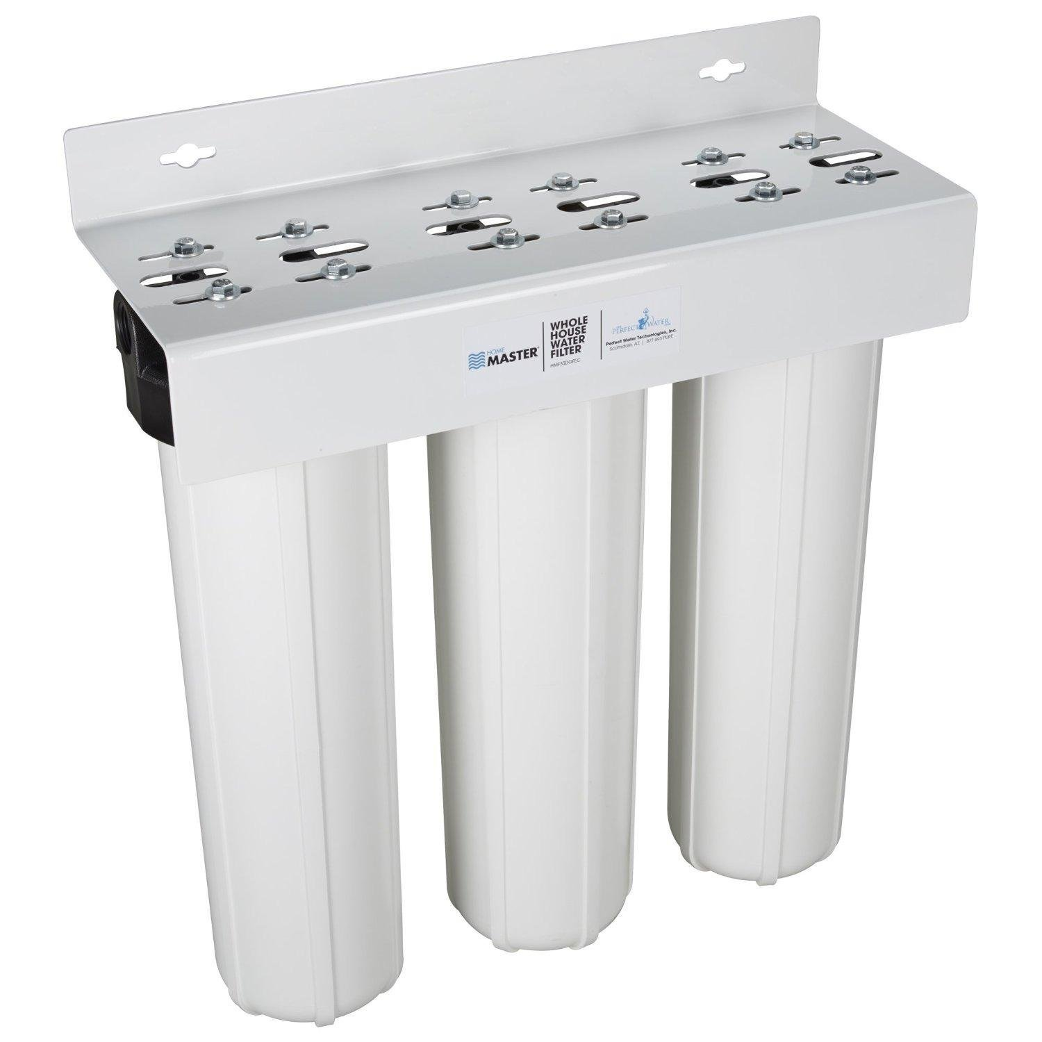 Whole House Filtration Systems Home Master Hmf3sdgfec Whole House 3 Stage Water Filter With Fine