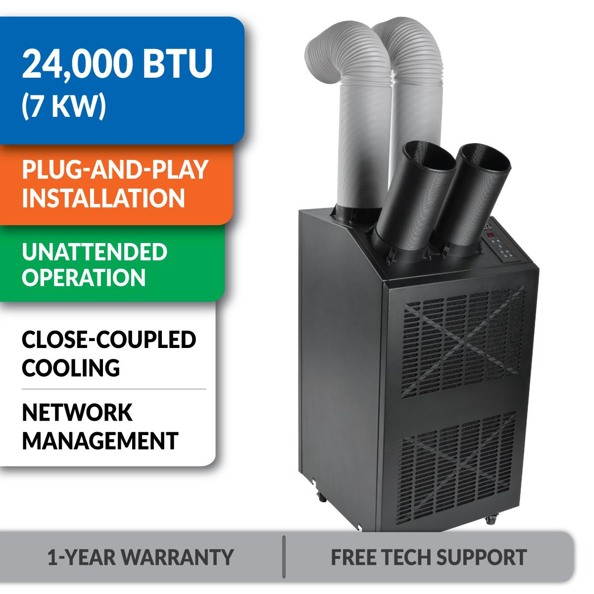 Amazon.com: Tripp Lite Portable Cooling Unit Air Conditioner AC 24K  #009C4A