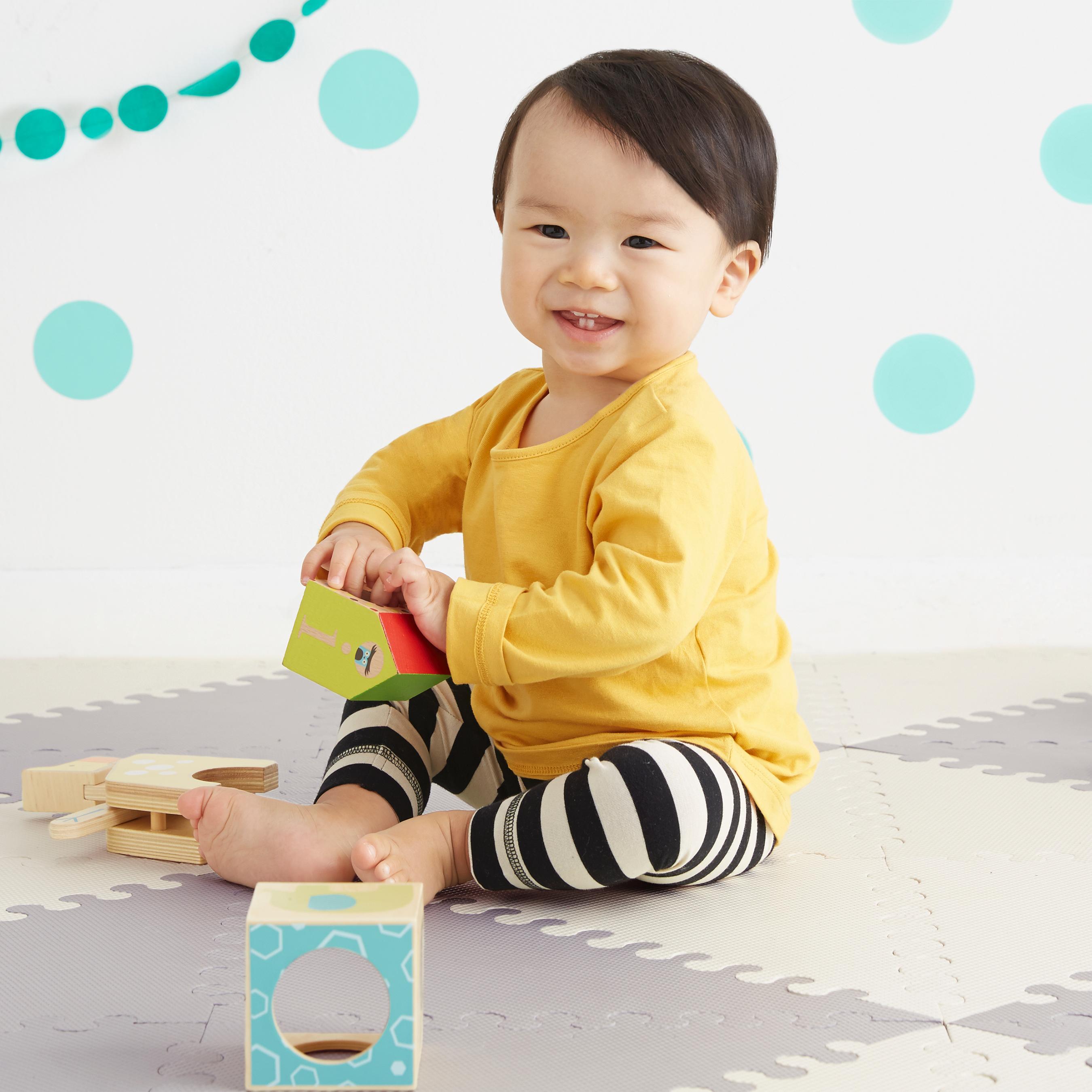 Amazon Com Skip Hop Geo Grey Cream Playspot Foam Floor