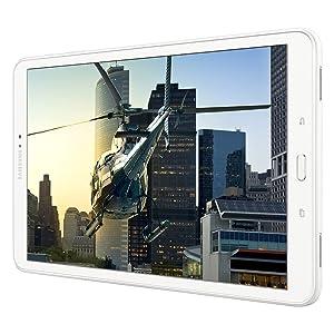 El Samsung Galaxy Tab Una rinde sus medios digitales en vivo detalle, realismo