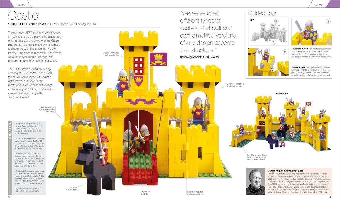 Great LEGO Sets: A Visual History: Daniel Lipkowitz: 9781465436665