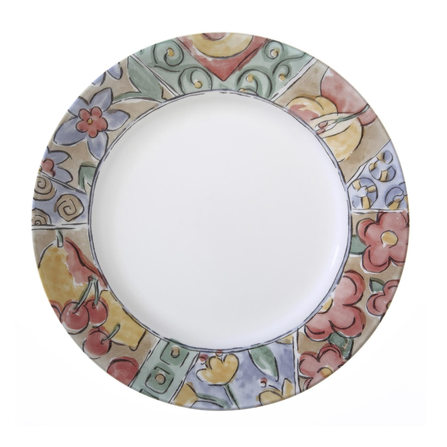 View larger  sc 1 st  Amazon.com & Amazon.com: Corelle Impressions 16-Piece Dinnerware Set Watercolors ...