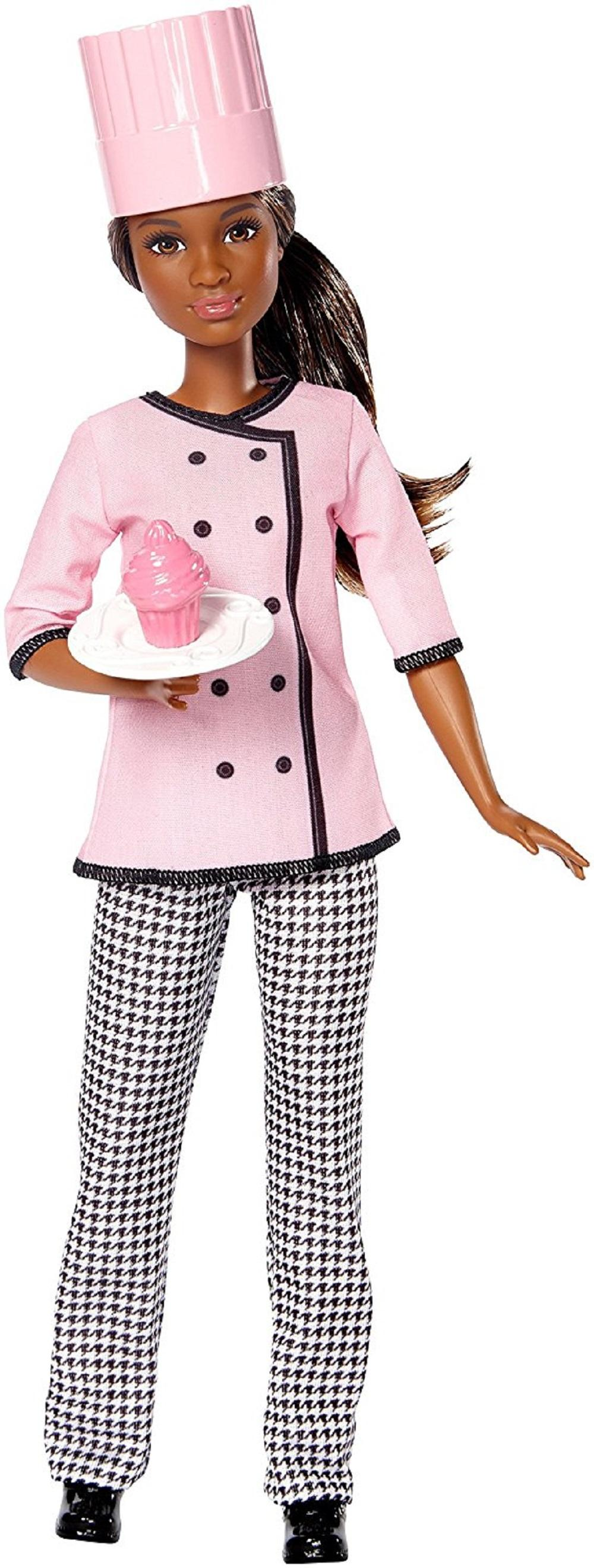 Amazon.com: Barbie Cupcake Chef Doll: Toys & Games