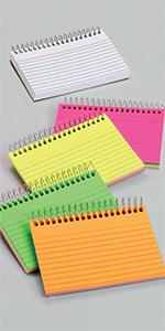 Oxford Spiral Index Cards