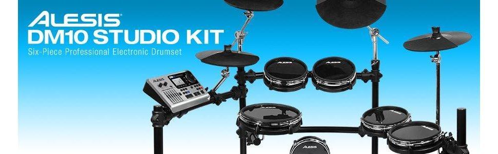 Alesis, DM10 Studio Kit, Drums, Electronic drums, samples, triggers, drum sticks, pads, DM10