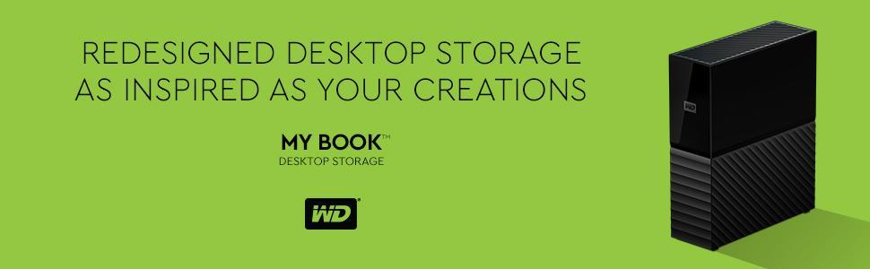 WD 8 TB My Book Desktop External Hard Drive - USB 3 0