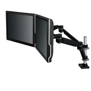 3M Easy Adjust Desk Mount Dual Monitor Arm Adjust Height Tilt