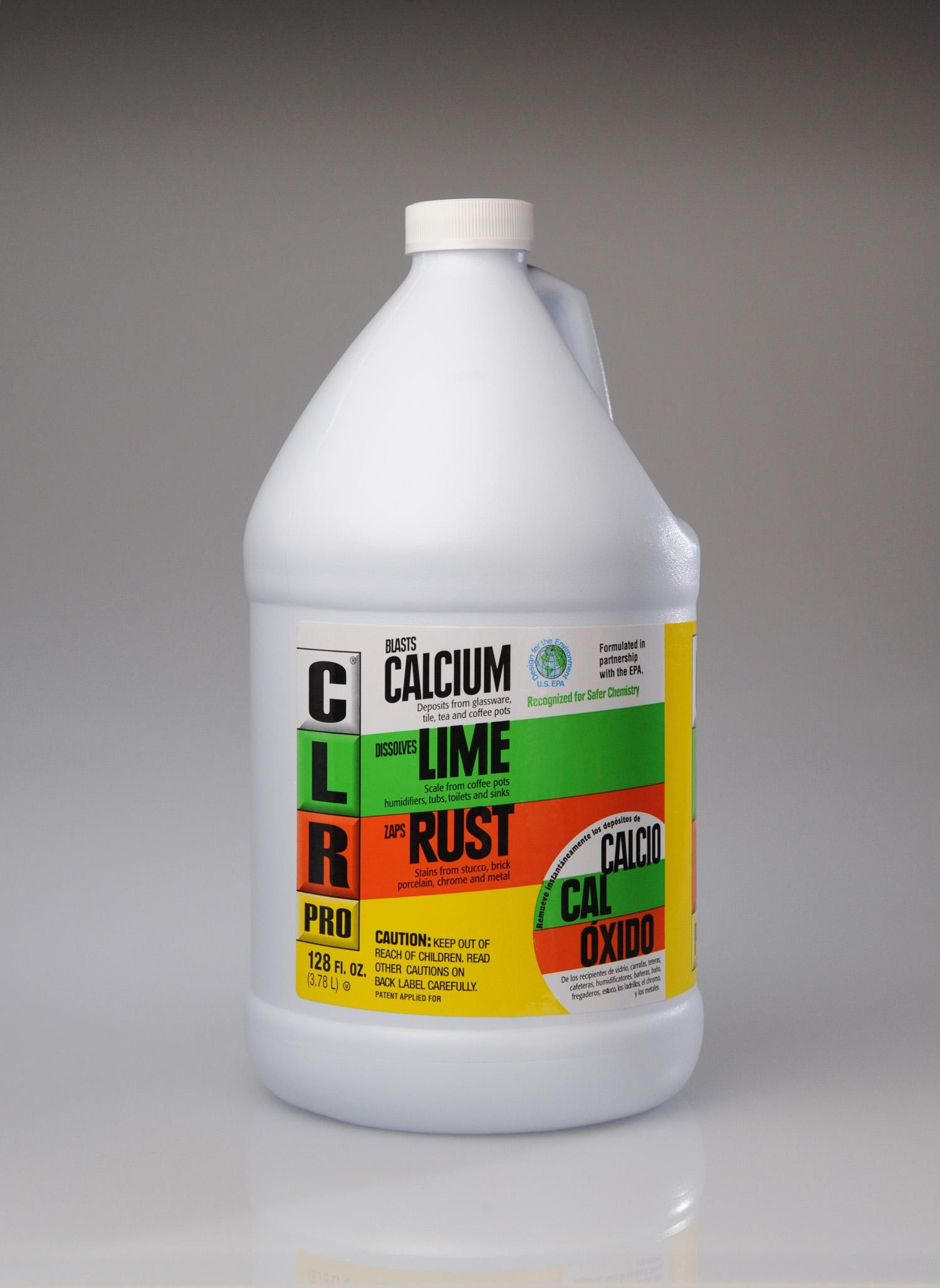 Amazon.com: CLR Pro CL-4Pro Calcium, Lime and Rust Remover, 1 Gallon ...