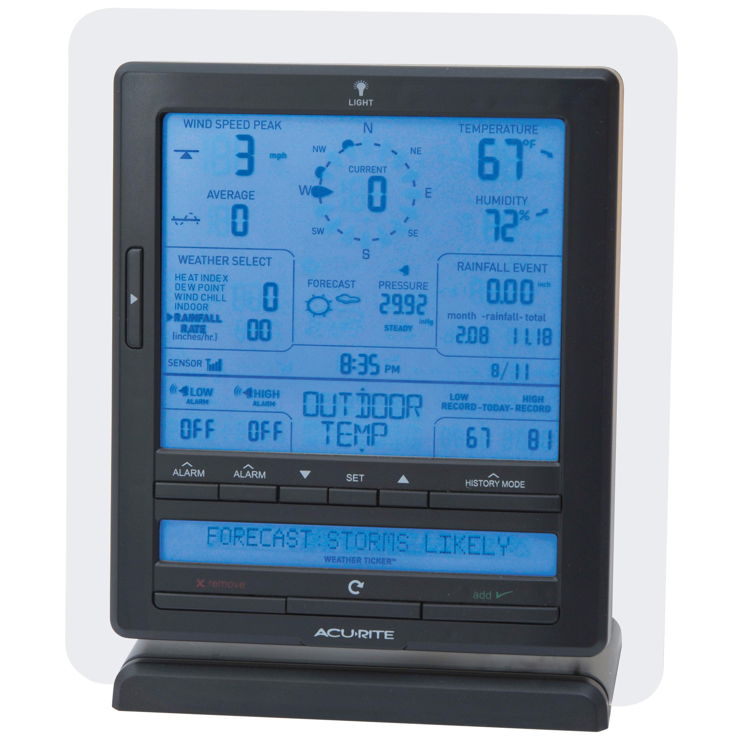 Amazon Com Acurite 01015 Wireless Weather Station With