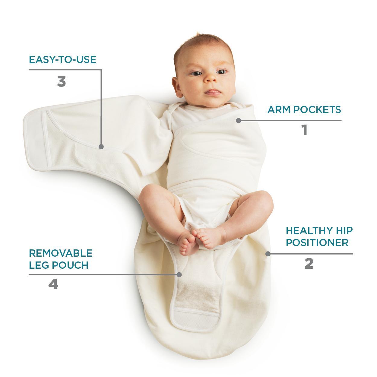 Amazon.com  Ergobaby Lightweight Swaddler Stone  Baby