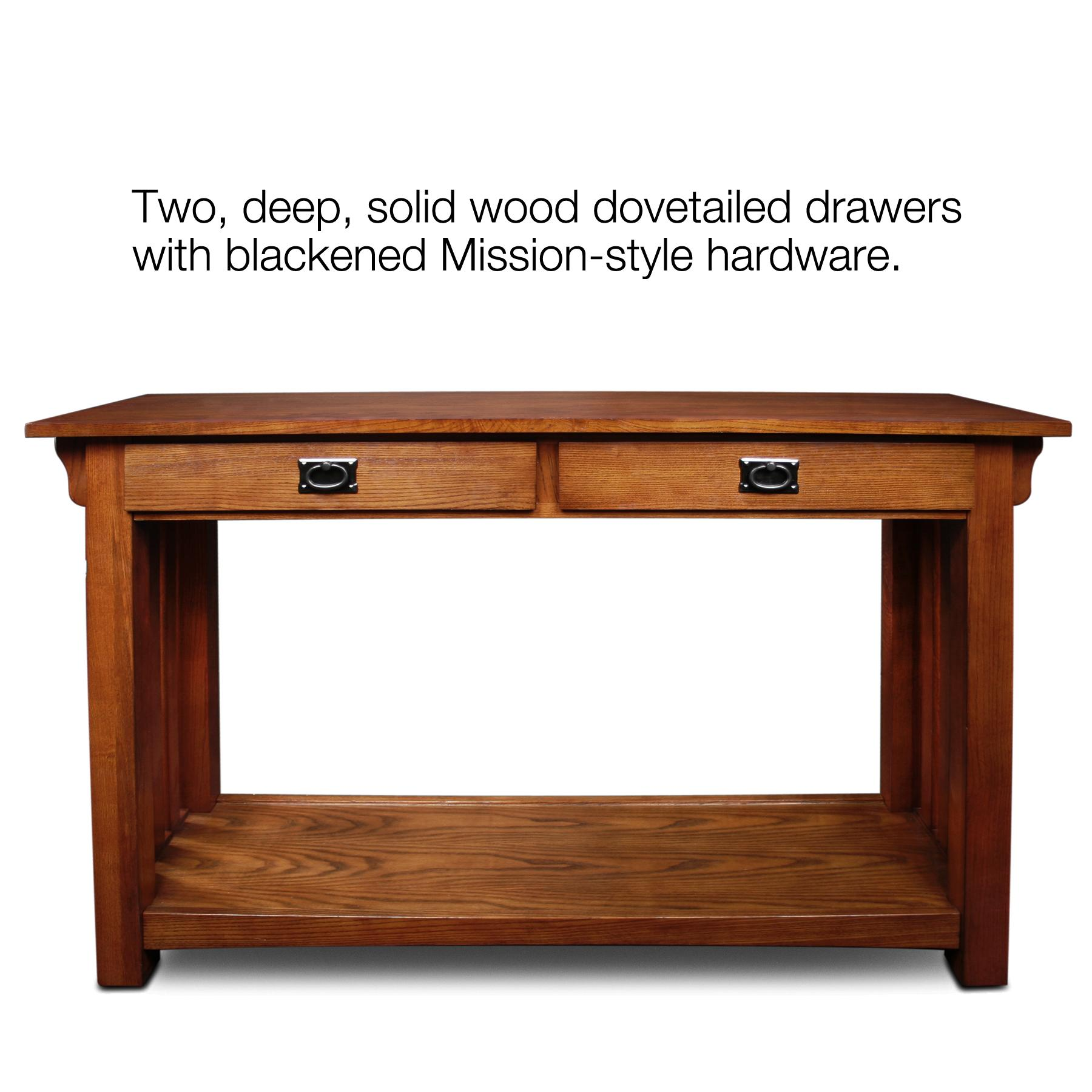 Amazon Leick Furniture Mission Sofa Table Medium Oak
