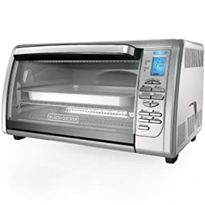 Black Decker Cto6335s 6 Slice Digital Convection Countertop Toaster Oven Ebay