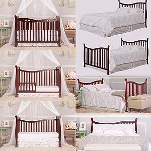 Violet Dream On Me Nursery Furniture Baby DOM Family Crib
